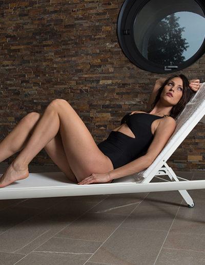 Spakini, il costume da bagno per la SPA modello Clitia