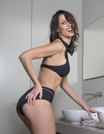 Spakini, il costume da bagno per la SPA modello Sao